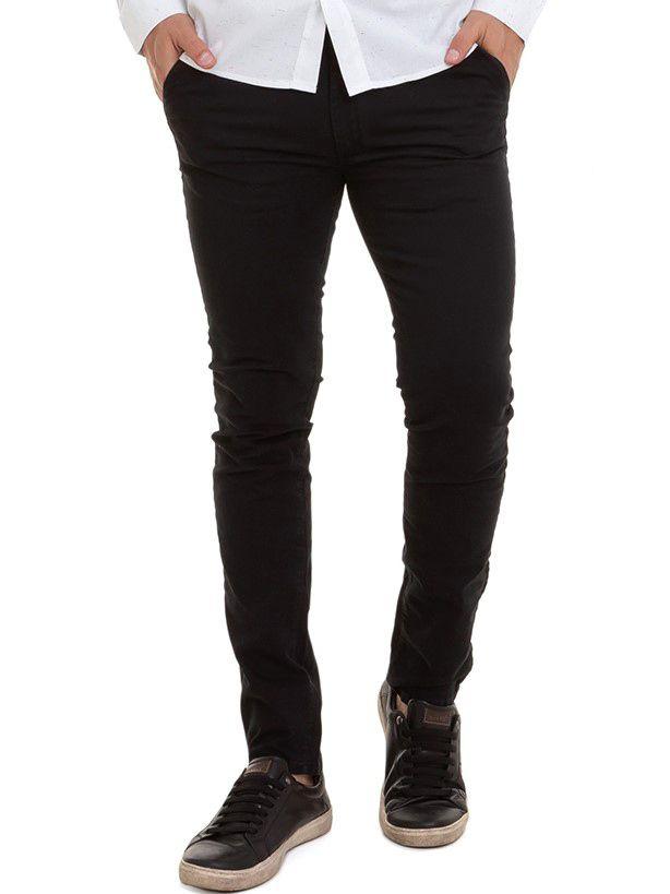 Calça Masculina Sarja Color Authentic  Conexão