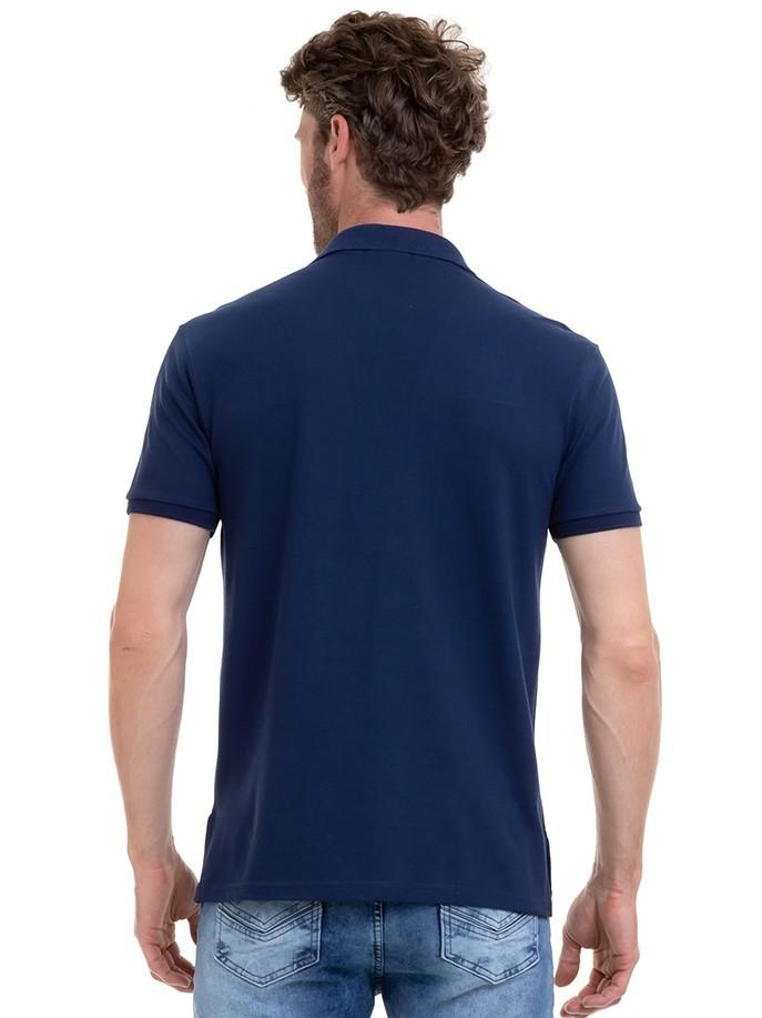Camisa Masculina Manga Curta Polo Com Bordado Conexão
