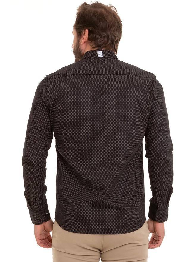 Camisa Masculina Manga Longa Conexão