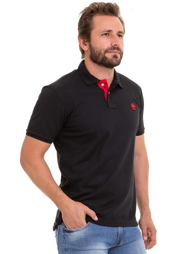 Camisa Masculina Polo Básica Premium Conexão