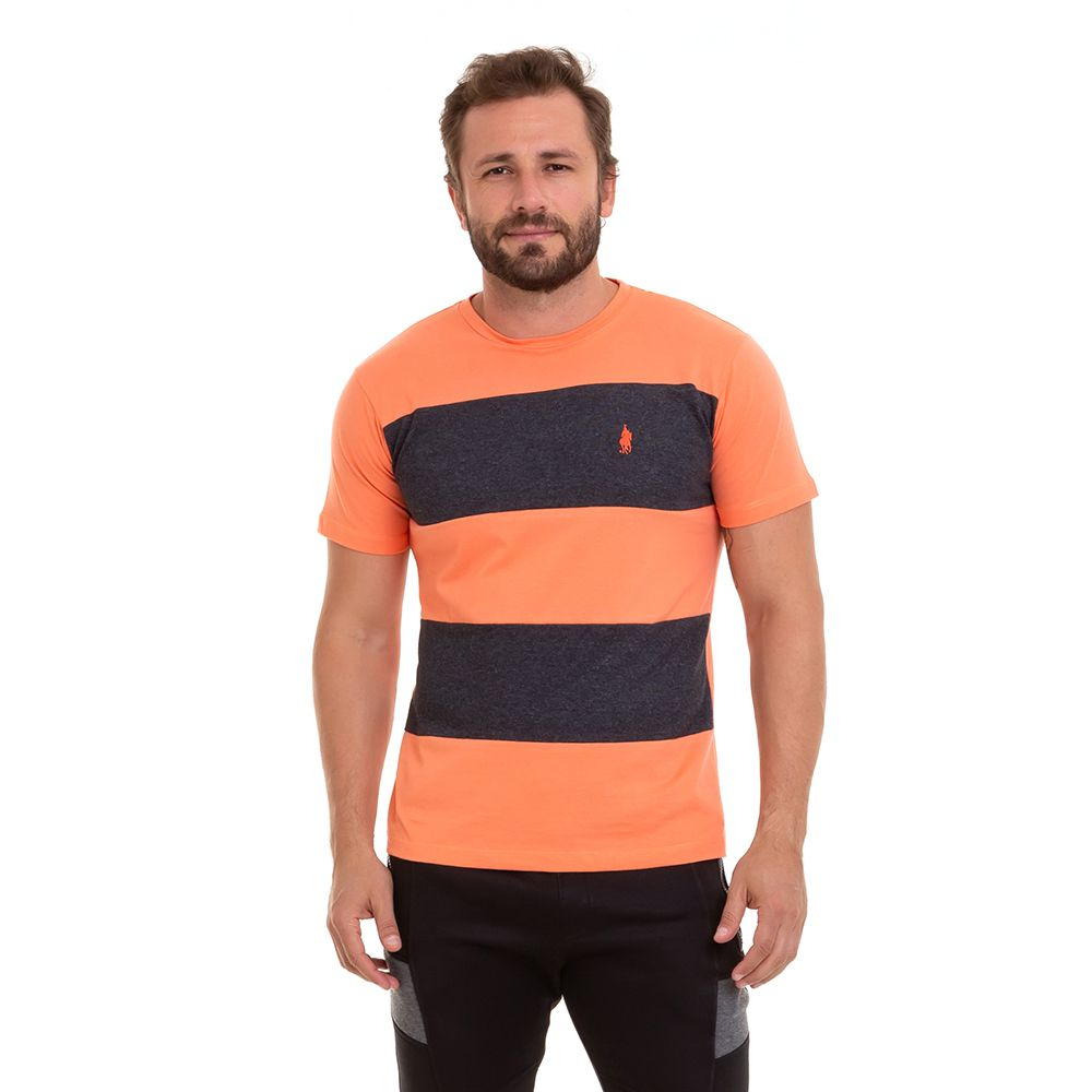 Camiseta M/C  Recortes Masculina Conexão