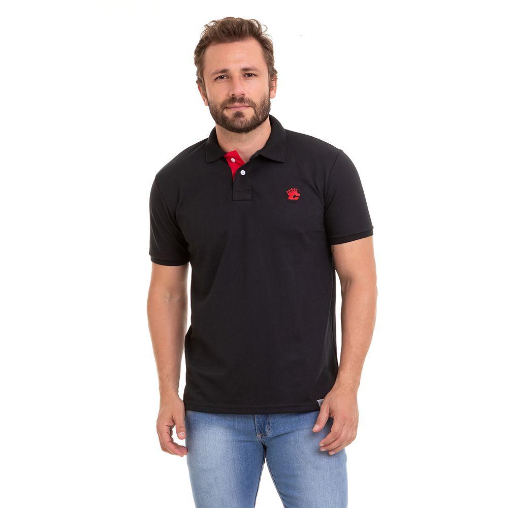 Camiseta Polo Masculina Básica Premium Conexão