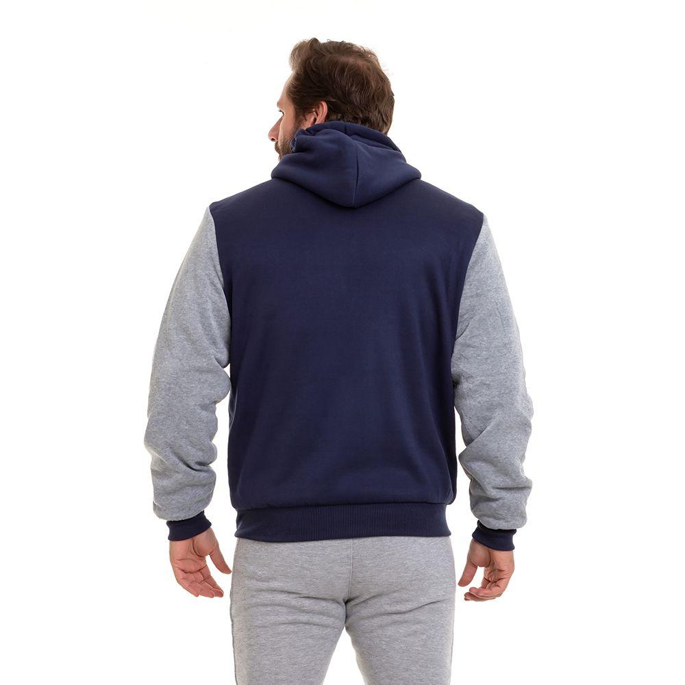 Casaco Blusão De Frio Forrado Pele Carneiro Masculino Conexão