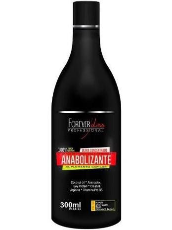 Shampoo Anabolizante Capilar Fortalecedor Forever Liss 300ml