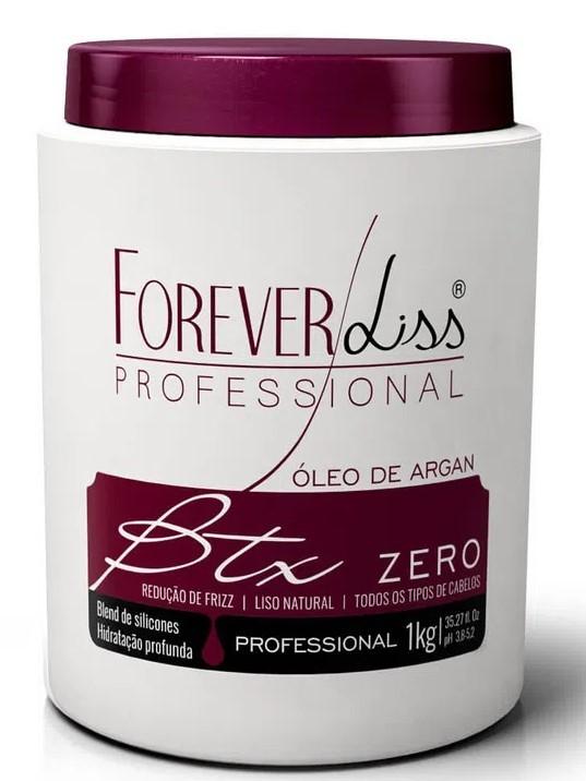 Forever Liss  Btx + Máscara Alto Impacto Kit Combo 2 Revenda Atacado PRONTA ENTREGA