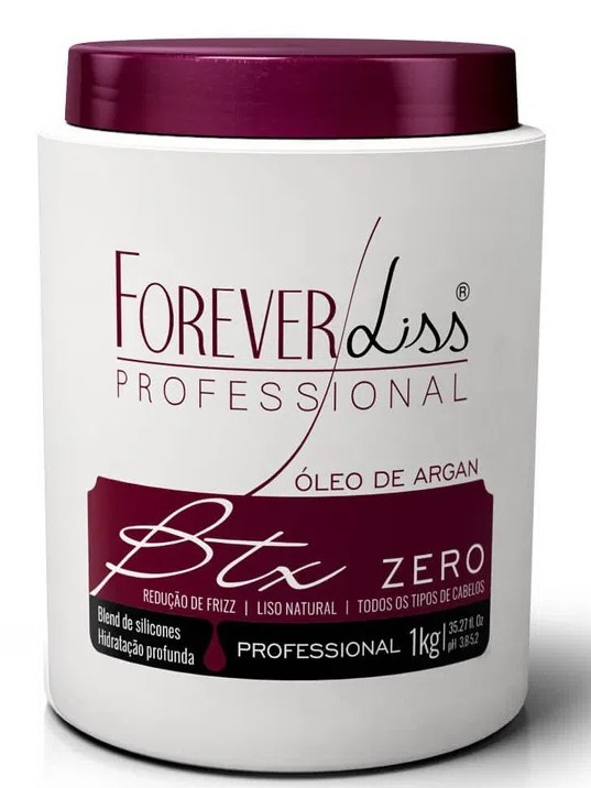 Forever Liss Kit Cronograma Capilar Btx + Máscara Alto Impacto Tratamento Profissional