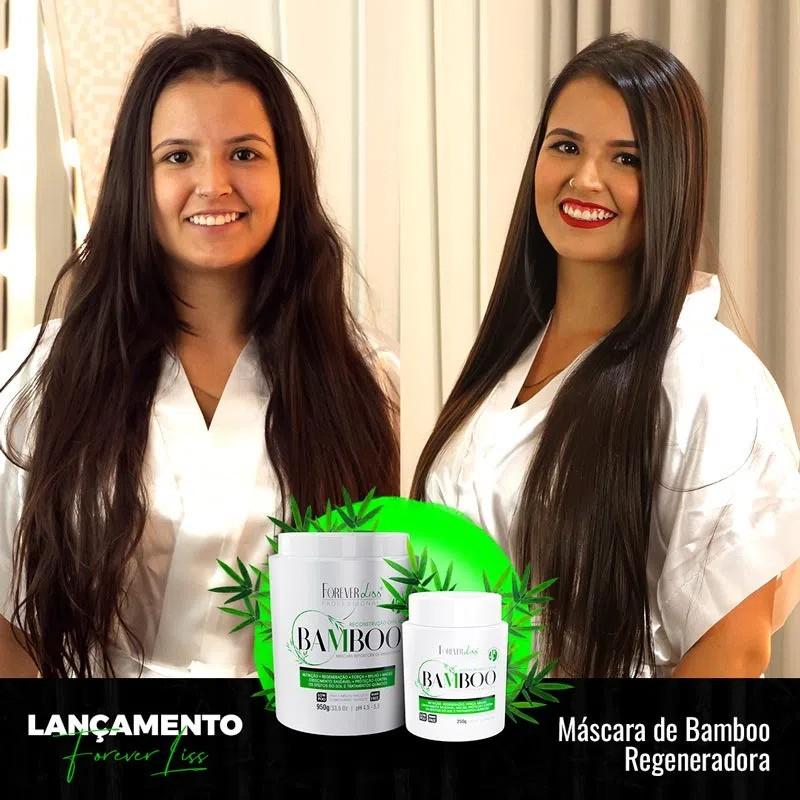 Forever Liss Máscara de Bamboo Regeneradora Combo 2 - 250g