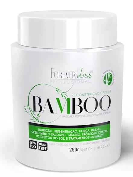 Máscara Reconstrutora Bamboo 250g Forever Liss