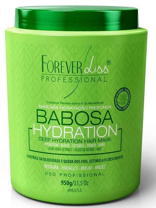 Hidratação Para Cabelos Babosa Máscara Forever Liss 950g