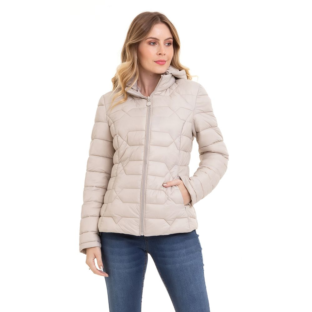 Jaqueta Feminina Forrada Inverno Conexão