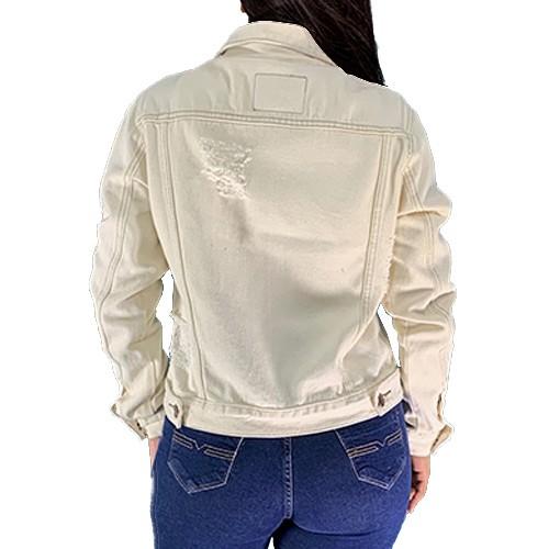 Jaquetinha Bomber Jaqueta Jeans Casaco Blusa Feminina Conexão