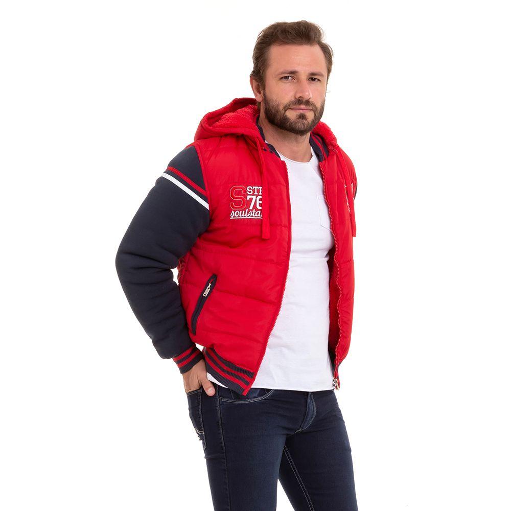 Jaqueta Masculina Blusão Moletom Inverno Conexão
