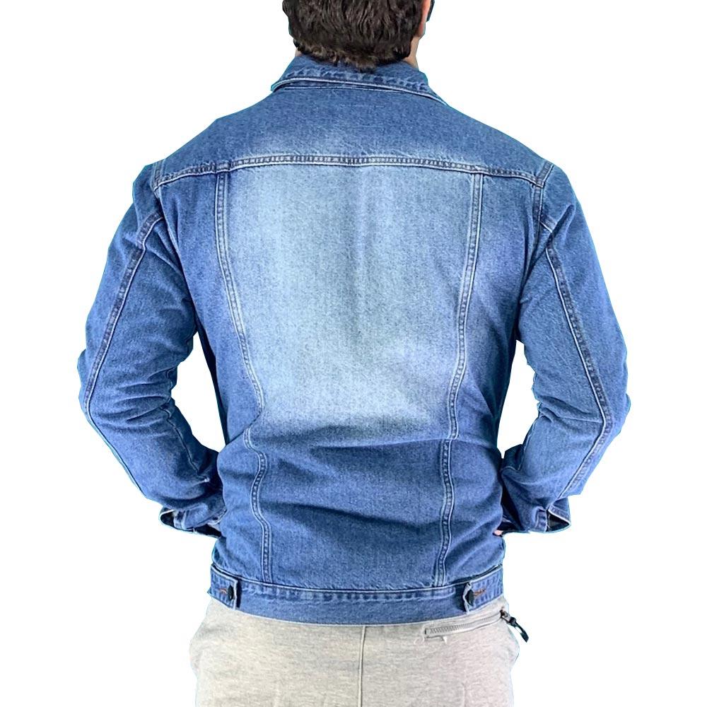 Jaqueta Masculina Jeans Destroyed Conexão