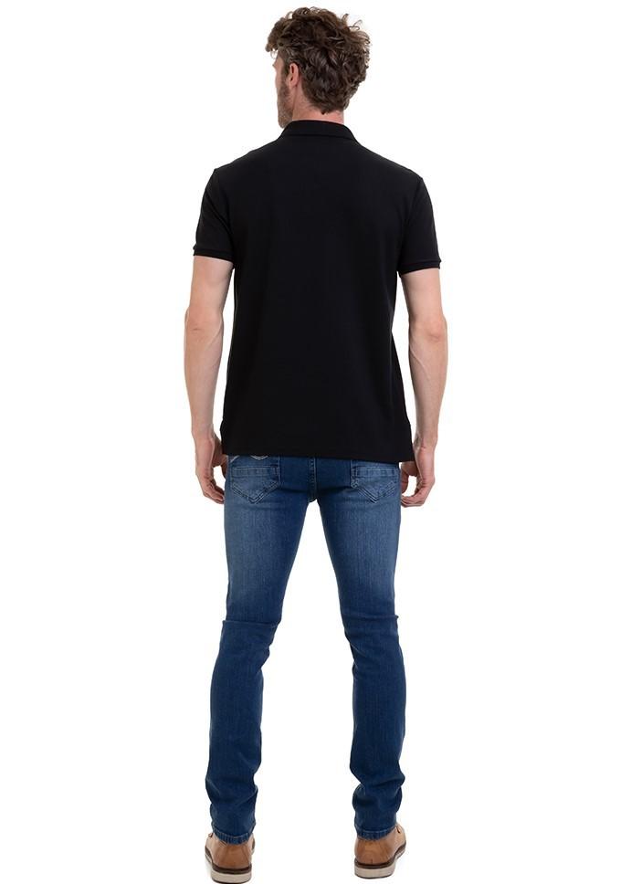 KIT C/3 Camisa Masculina Manga Curta Polo Com Bordado Conexão