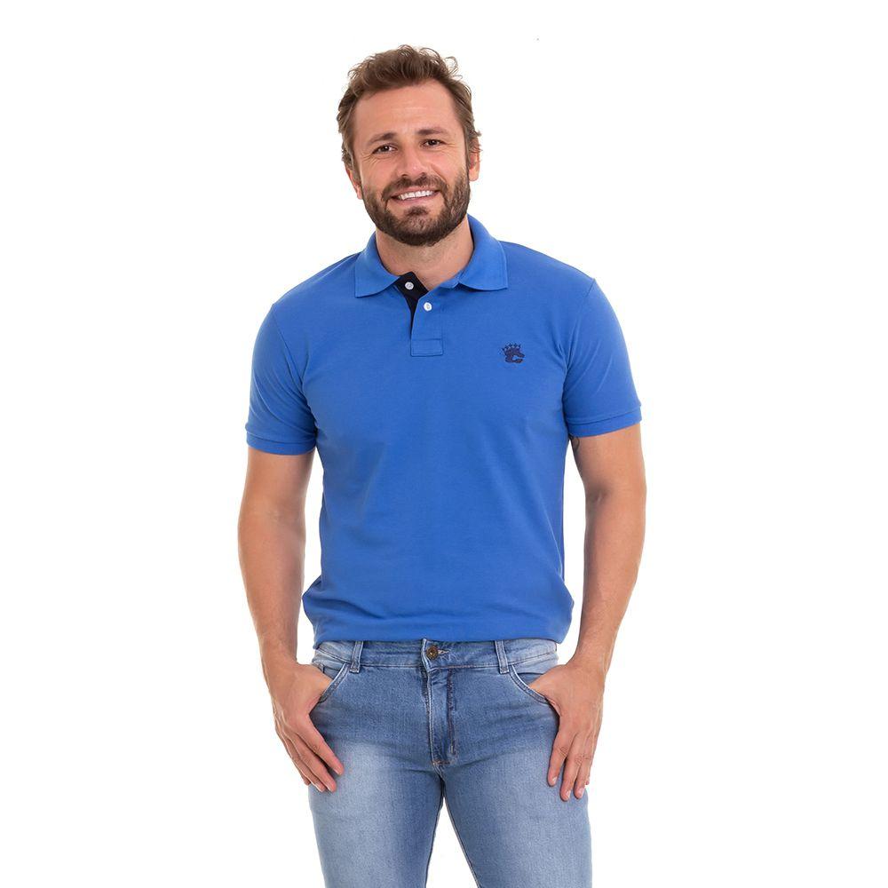 Camisa Camiseta Polo Básica Premium Kit C/3  Masculina Conexão
