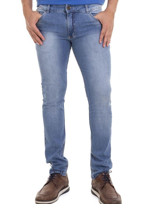 kit C/Polo Básica Premium + Jeans Confort Masculino Conexão