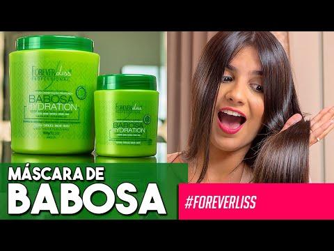 Máscara de Babosa Hidratação Profunda Forever Liss Kit Com 2x 250g