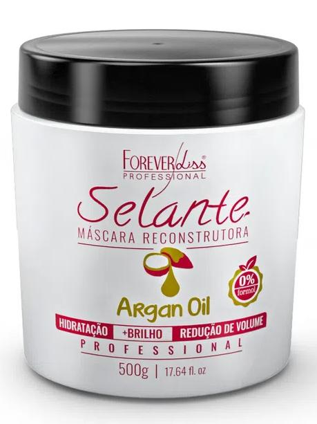 Selante Térmico Argan Oil Forever Liss 500g