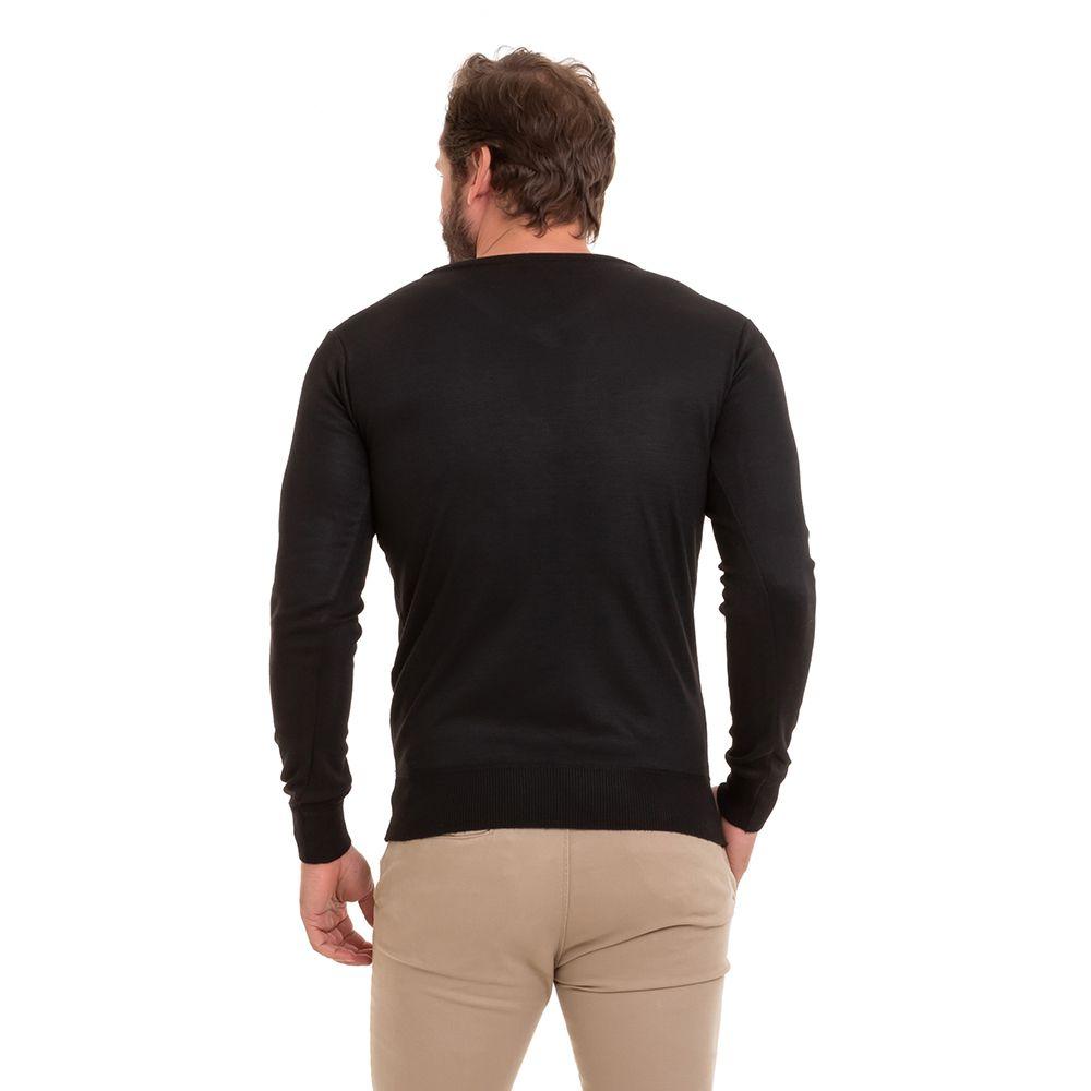 Suéter Blusa Tricô Masculino Kit C/3 Conexão