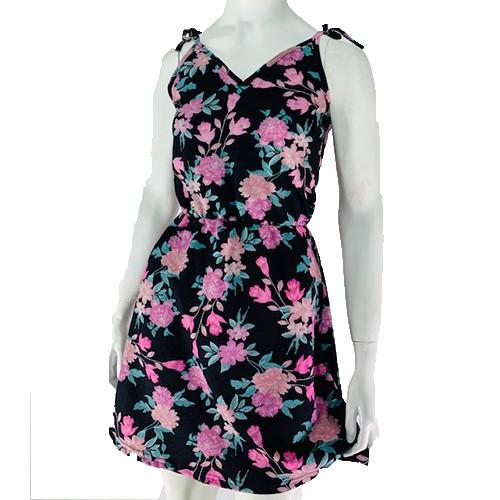 Vestido Curto Alcinha Estampa Floral Conexão