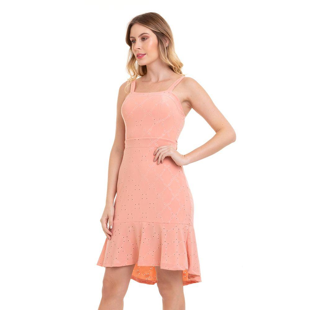 Vestido Feminino Midi em Laise Conexão