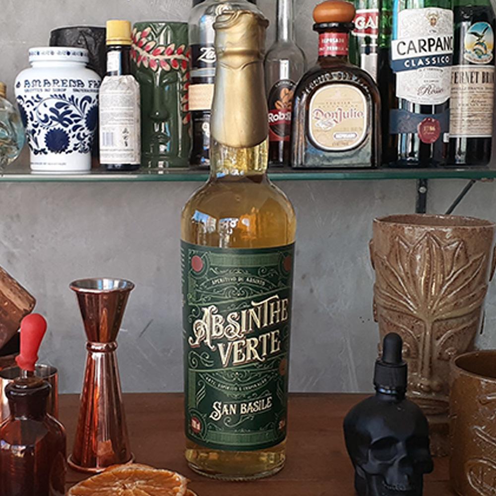 Absinto - San Basile - Verte - 700 ml  - DRUNK DOG DELIVERY