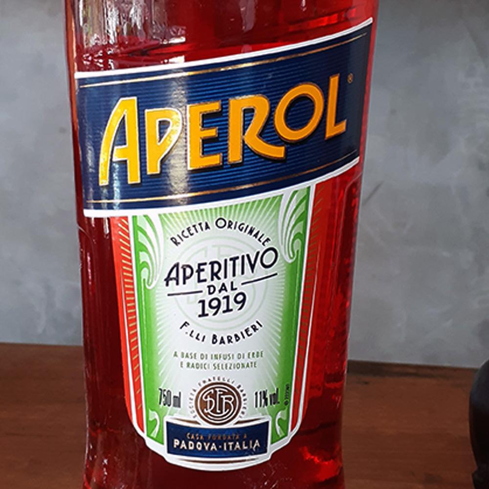 Aperitivo - Aperol - 750 ml  - DRUNK DOG DELIVERY