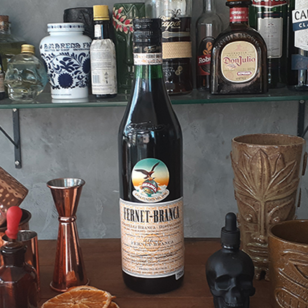 Aperitivo - Fernet - Branca - 750 ml  - DRUNK DOG DELIVERY