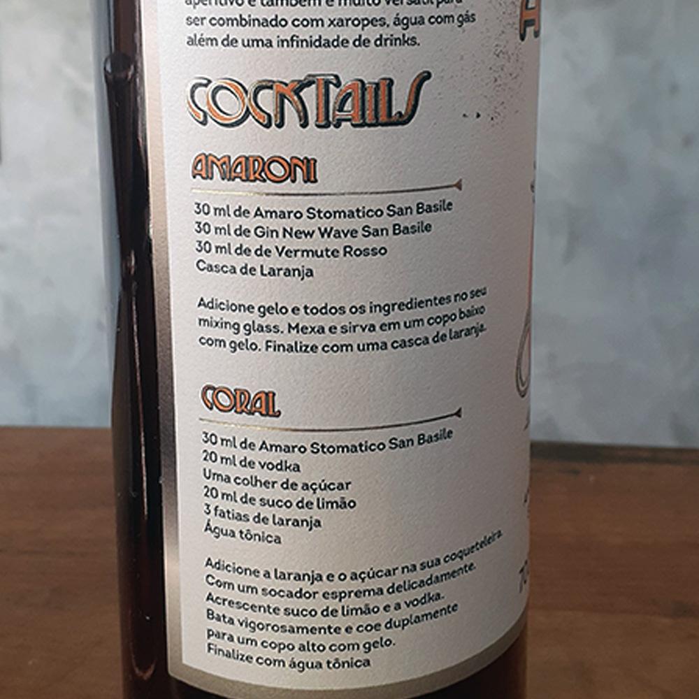 Bitter - Amaro Stomático - San Basile - 700 ml  - DRUNK DOG DELIVERY