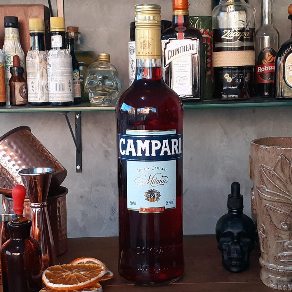 Bitter - Campari - 900 ml  - DRUNK DOG DELIVERY