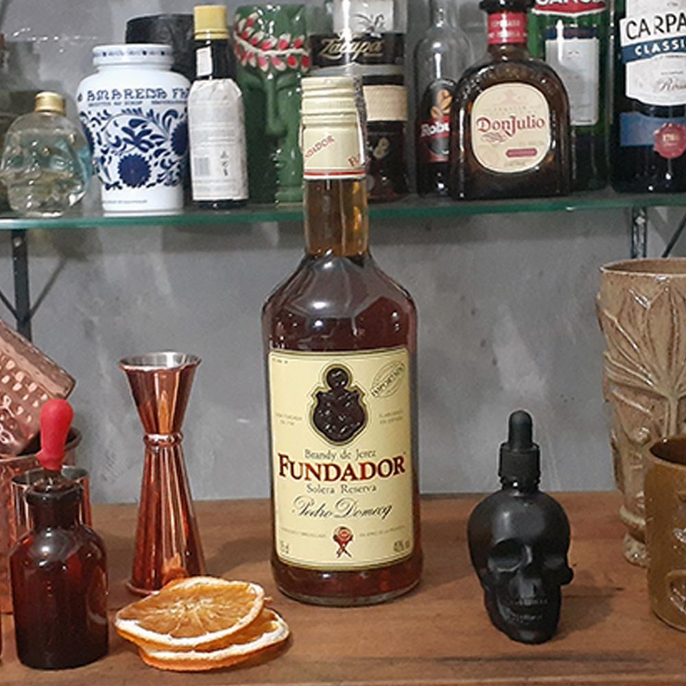 Conhaque - Fundador - 750 ml  - DRUNK DOG DELIVERY