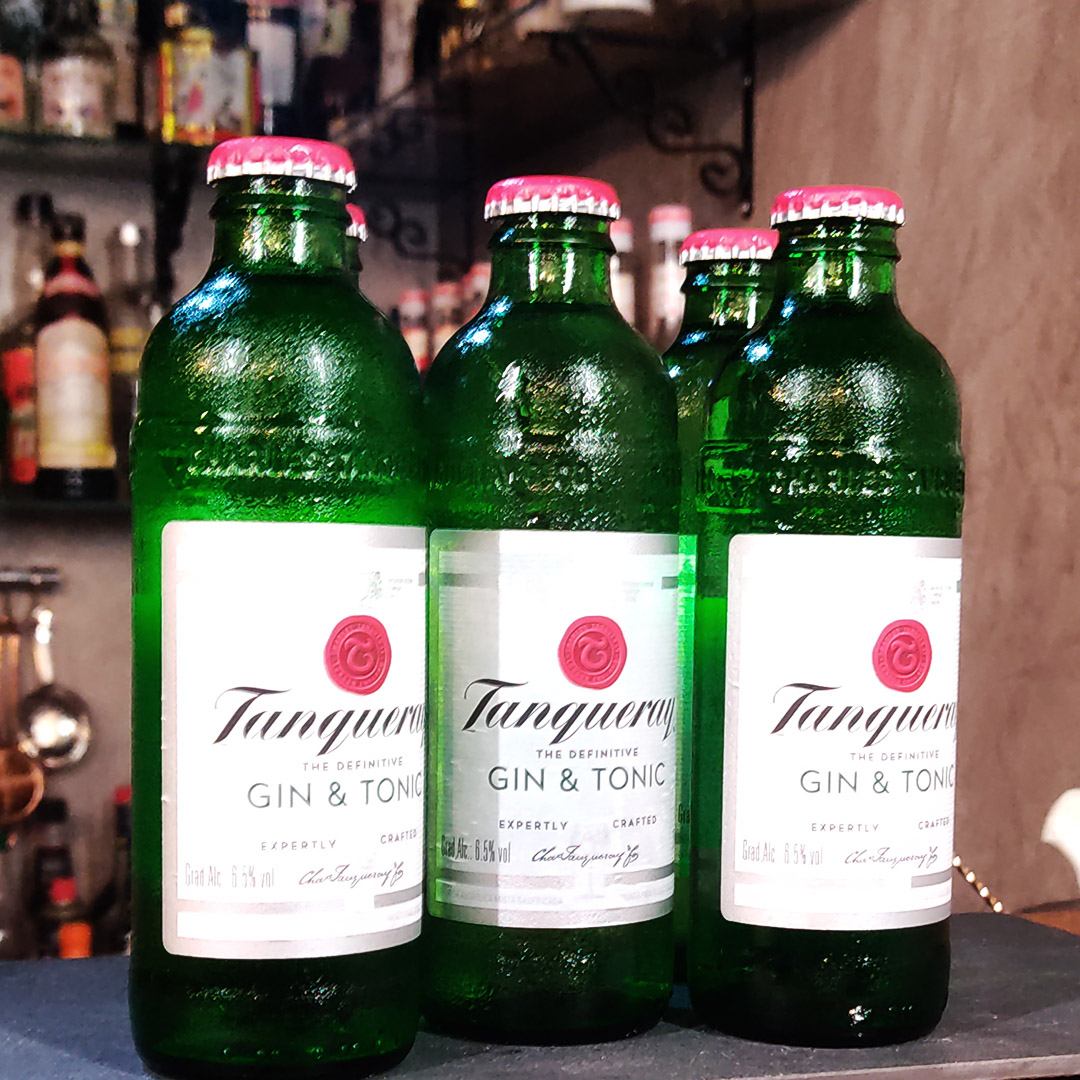 DTG - Tanqueray Gin & Tonic - 275 ml  - DRUNK DOG DELIVERY