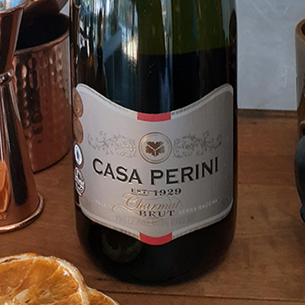 Espumante - Casa Perini - Brut - 750 ml  - DRUNK DOG DELIVERY