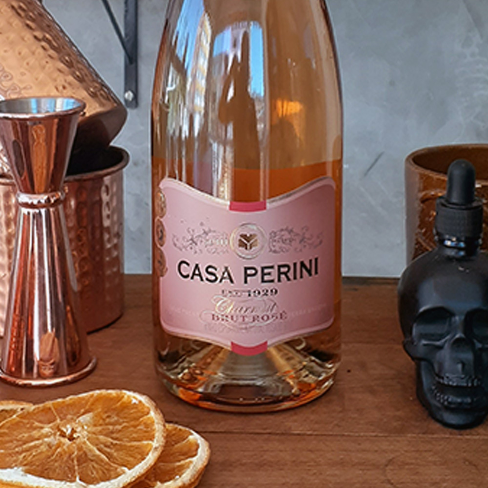 Espumante - Casa Perini - Brut Rose - 750 ml  - DRUNK DOG DELIVERY