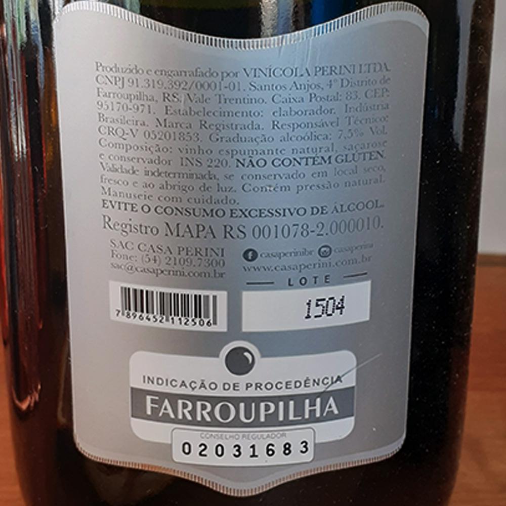 Espumante - Casa Perini - Moscatel - 750 ml  - DRUNK DOG DELIVERY
