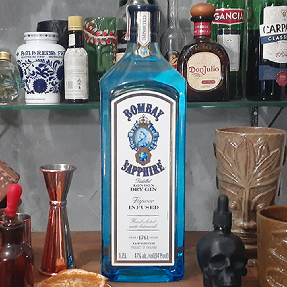 Gin - Bombay - Saphire - 1.750 ml  - DRUNK DOG DELIVERY