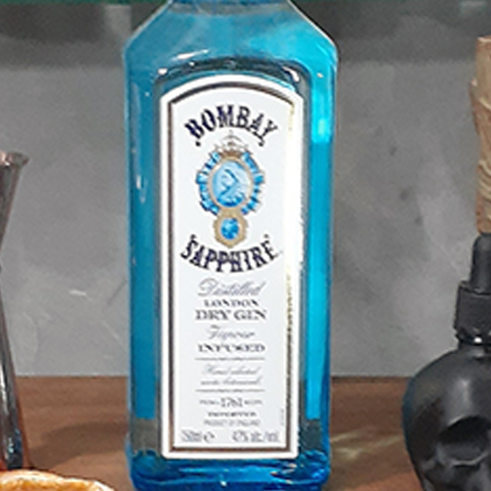 Gin - Bombay - Saphire - 750 ml  - DRUNK DOG DELIVERY