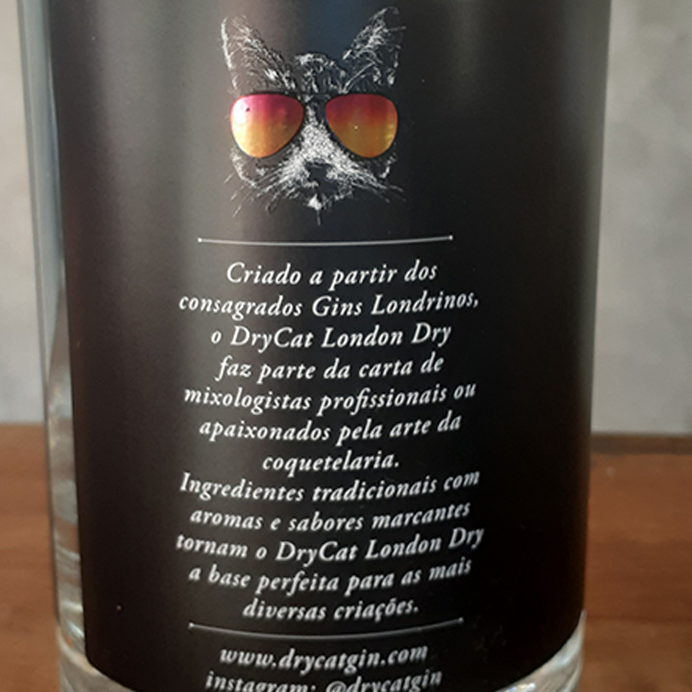 Gin - Dry Cat - London Dry - 750 ml  - DRUNK DOG DELIVERY