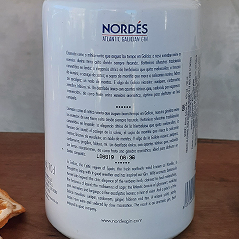 Gin - Nordes - 700 ml  - DRUNK DOG DELIVERY