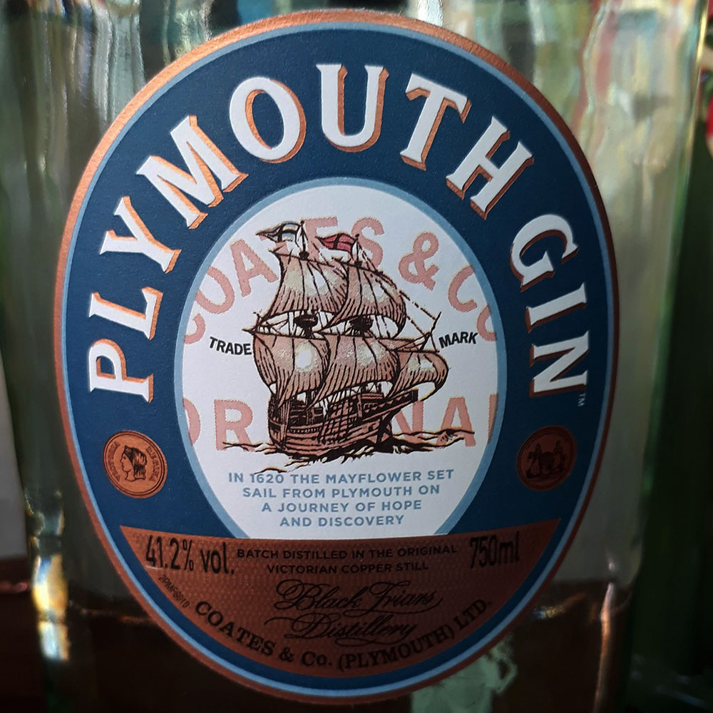 Gin - Plymounth - 750 ml  - DRUNK DOG DELIVERY
