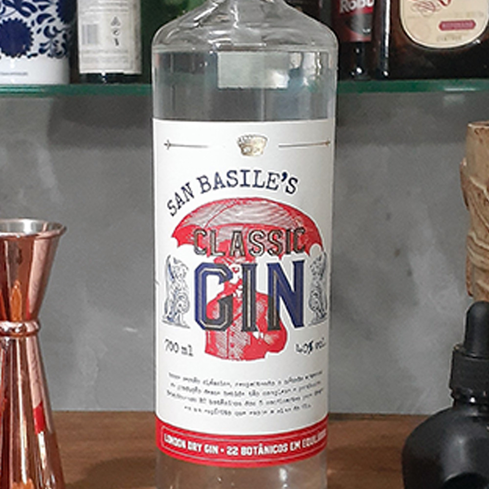 Gin - San Basile - Classic - 700 ml  - DRUNK DOG DELIVERY
