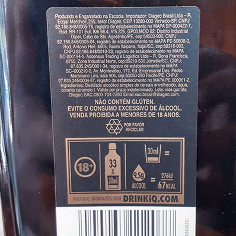 Whisky Johnnie Walker - Double Black - 1.000 ml  - DRUNK DOG DELIVERY