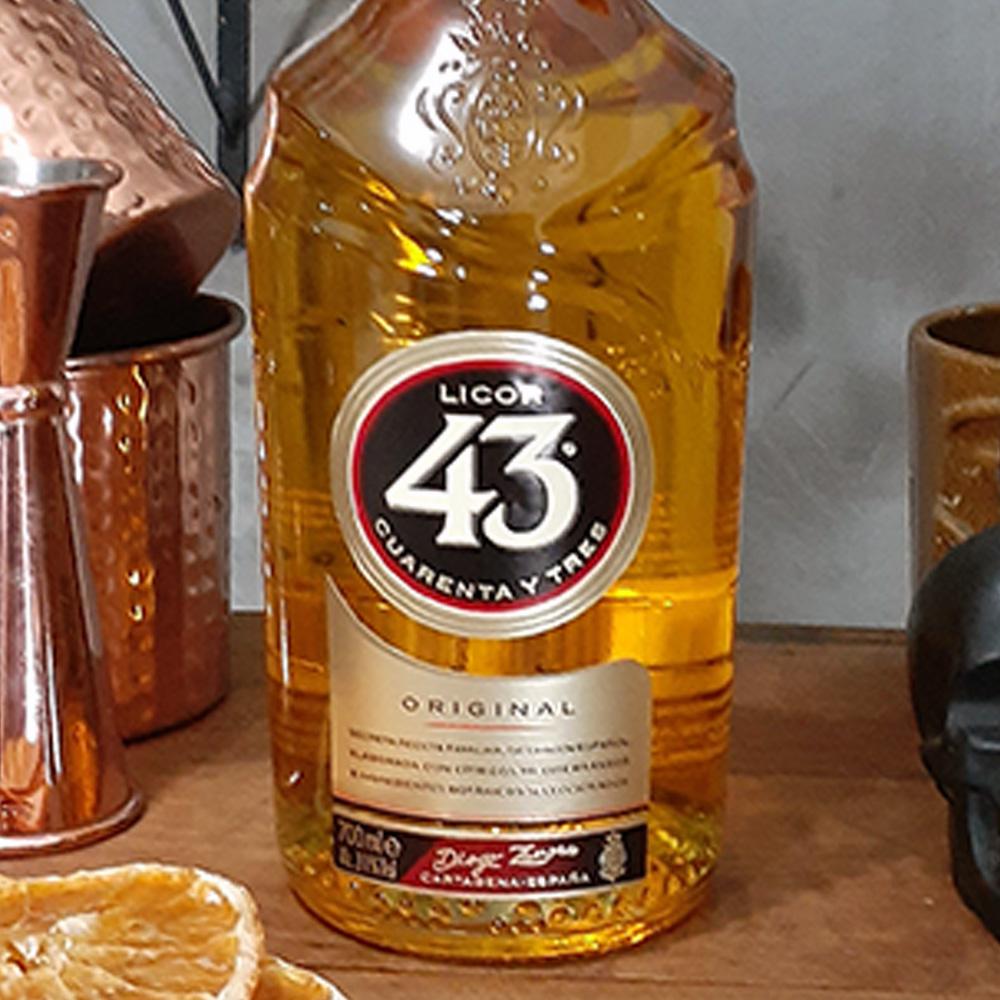 Licor - 43 (Cua. Y Tres) - Tradicional - 700 ml  - DRUNK DOG DELIVERY