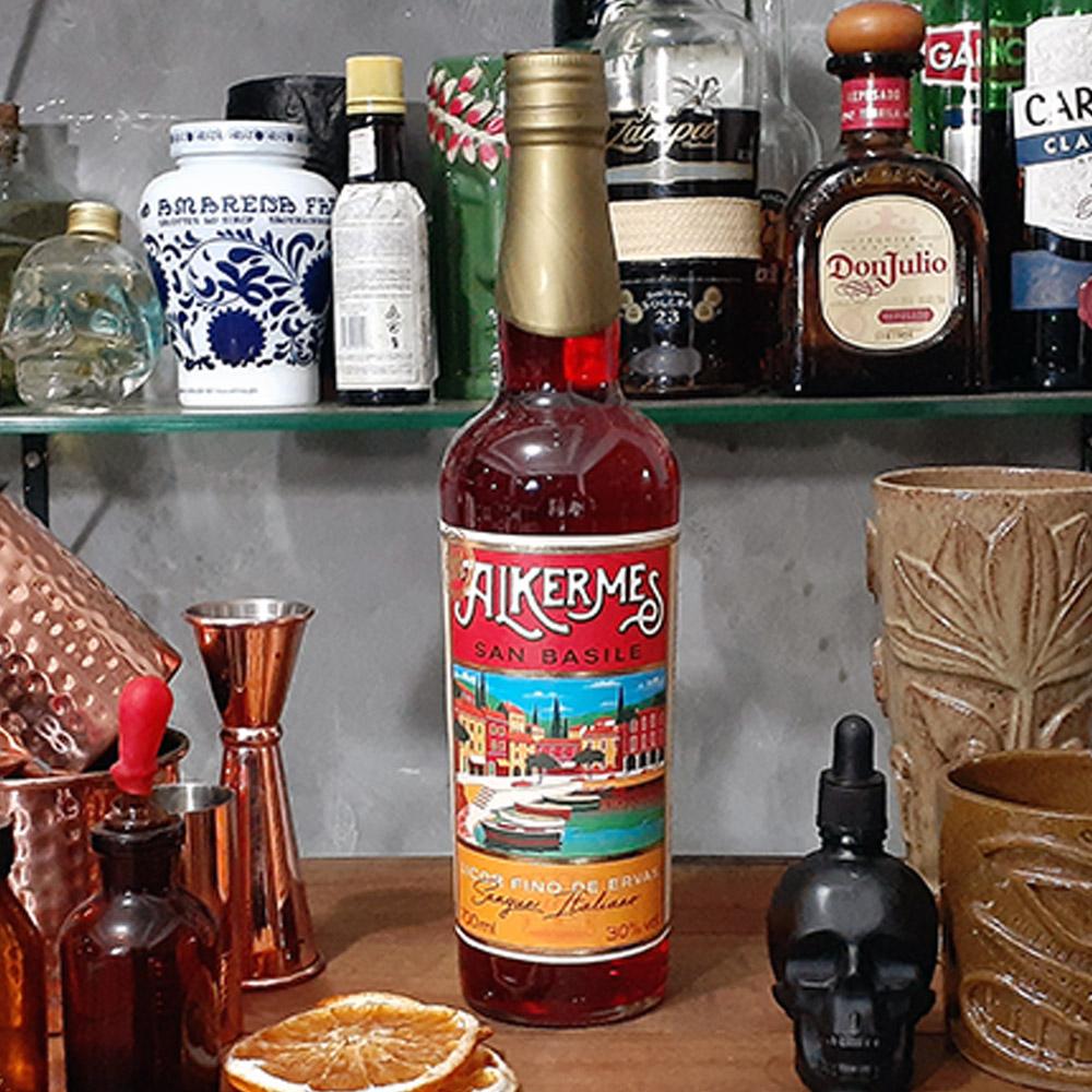 Licor - Alkermes - San Basile -750 ml  - DRUNK DOG DELIVERY