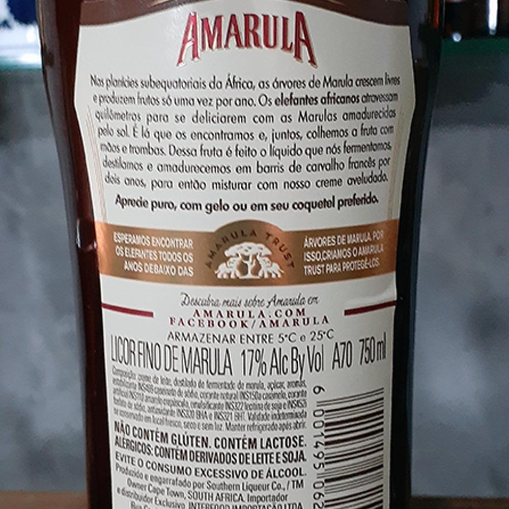 Licor - Amarula - 750 ml  - DRUNK DOG DELIVERY