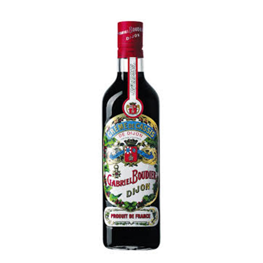 Licor - Cassis - Gabriel Bourdier - 700 ml  - DRUNK DOG DELIVERY