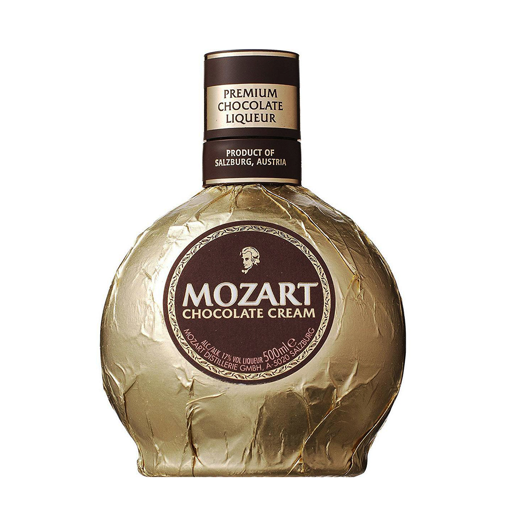Licor - Chocolate - Mozart Gold - 700 ml  - DRUNK DOG DELIVERY