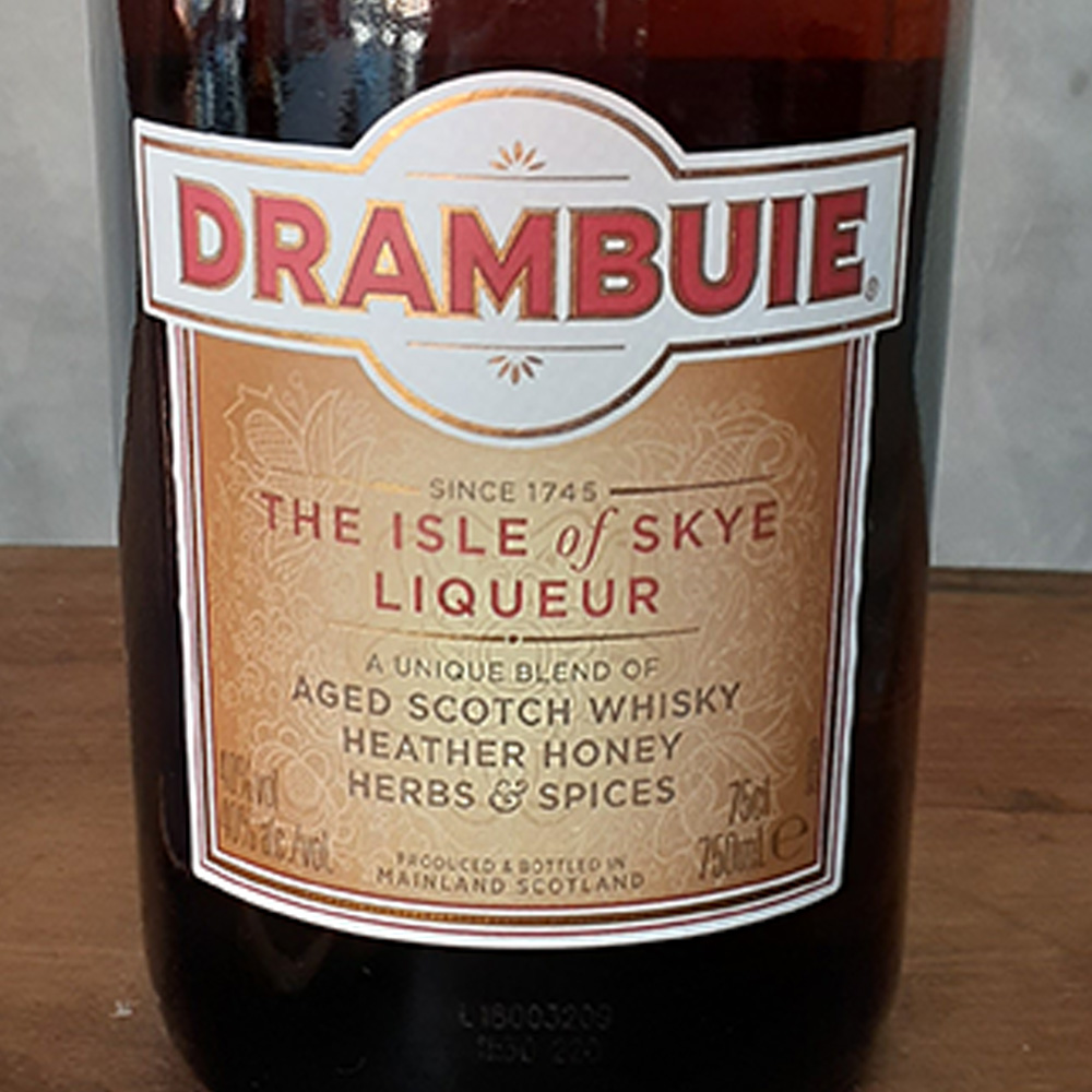 Licor - Drambuie - 750 ml  - DRUNK DOG DELIVERY