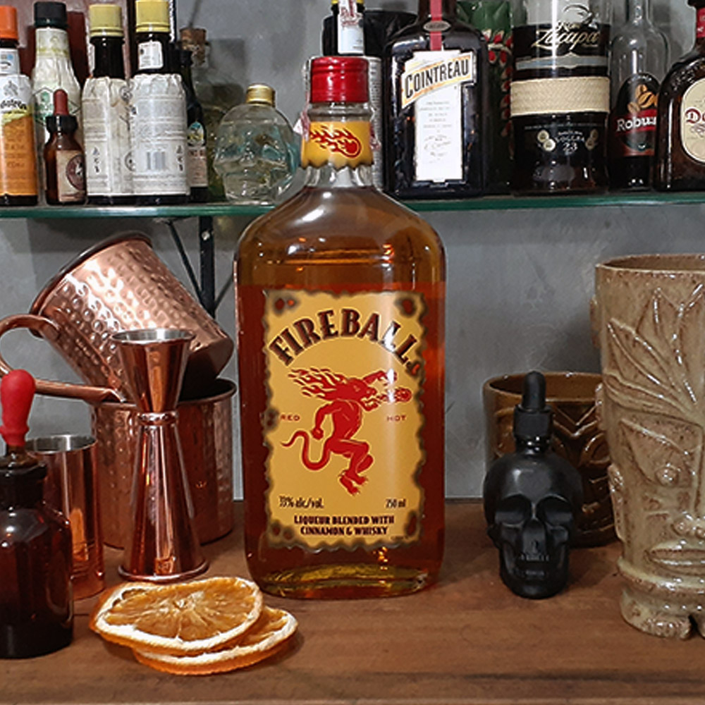 Licor - Fireball - 750 ml  - DRUNK DOG DELIVERY