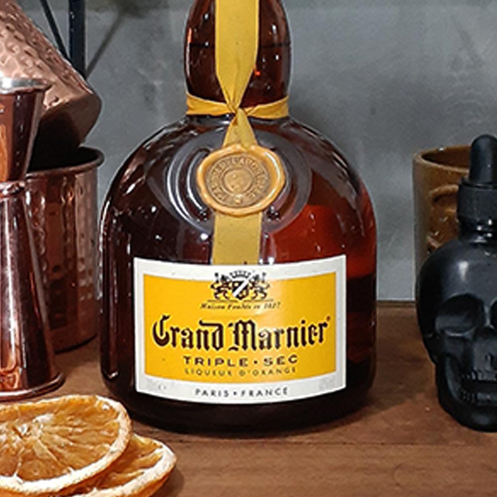 Licor - Triple Sec - Grand Marnier Amarelo- 700 ml  - DRUNK DOG DELIVERY